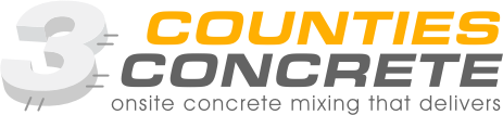 3Counties Concrete Logo