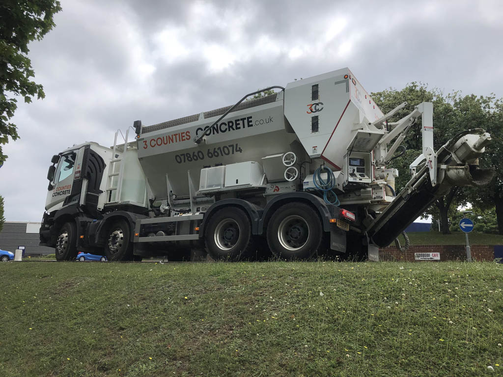 ready mix concrete truck - 3cc