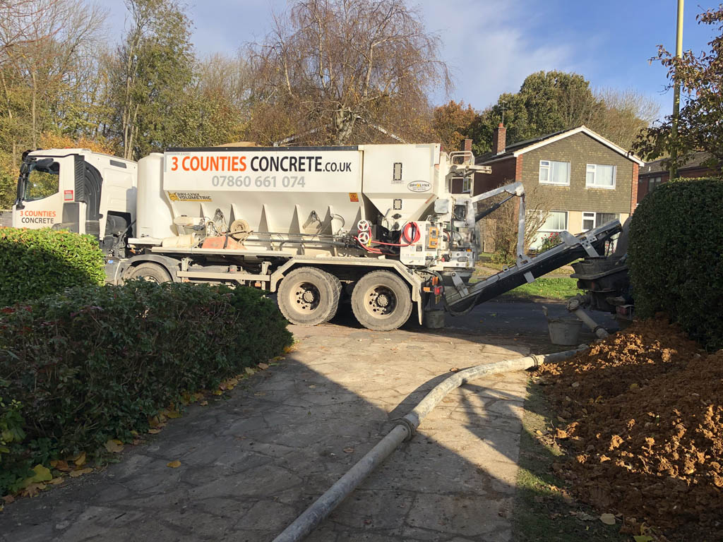 concrete suppliers for footings - 3cc
